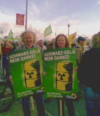 Energiewende-Demo Schwarz-Gelb, nein danke!
