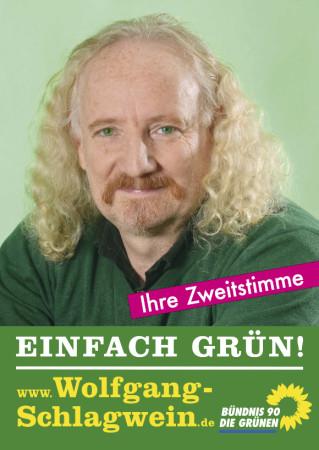 Wolfgang Wahlplakat