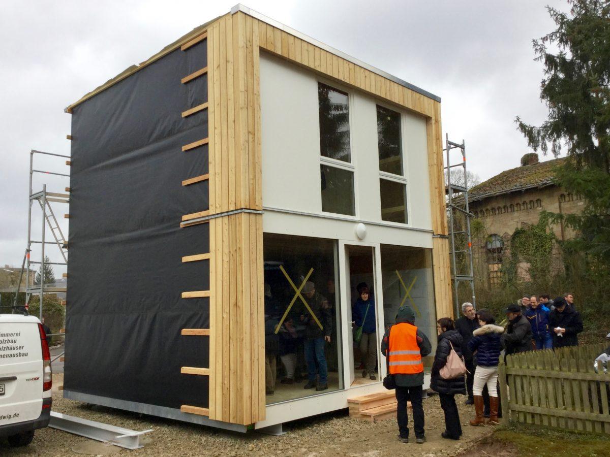 Holzbau gegen Wohnungsnot