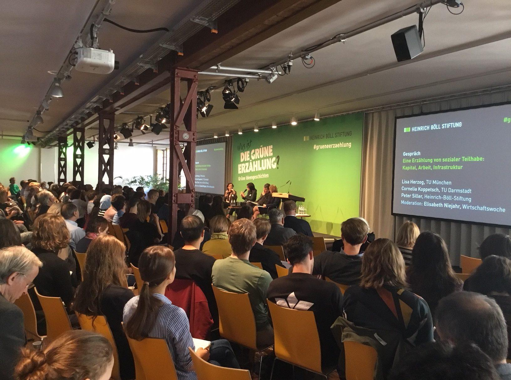 Die Grüne Erzählung – Konferenz der Heinrich-Böll-Stiftung in Berlin