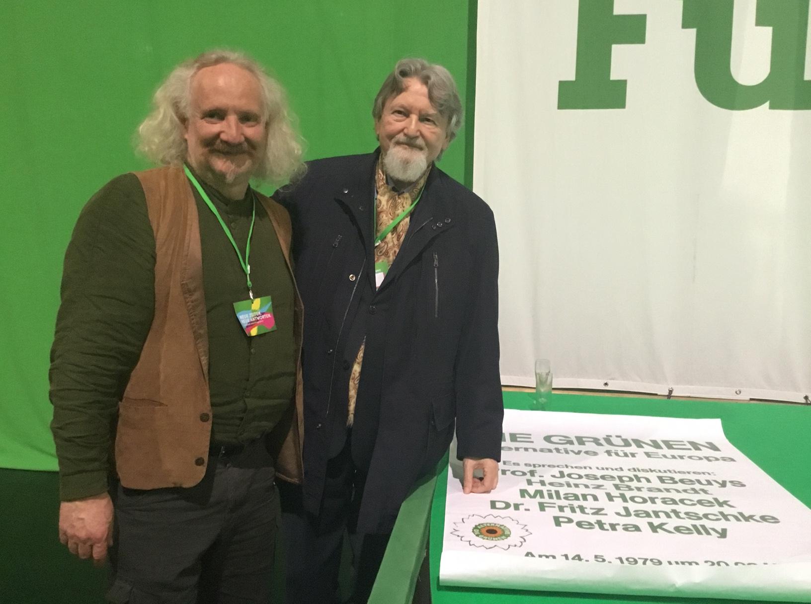 Am Anfang der Grünen stand Europa
